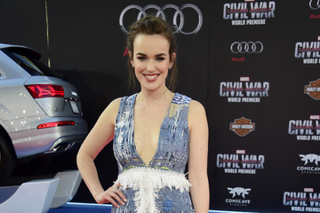 Elizabeth Henstridge Premiere of Marvel's 'Captain America: Civil War' - Arrivals