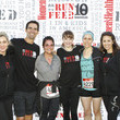 Elizabeth Lunny Women's Health RUN10 FEED10 Charity Race with Host Danielle Panabaker from CW's 'The Flash'