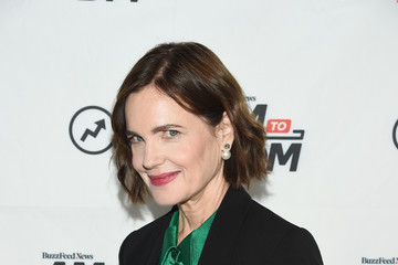 Elizabeth McGovern Celebrities Visit BuzzFeed's 'AM To DM' - September 16, 2019