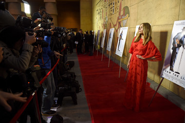 Elizabeth Olsen Premiere of Sony Pictures Classics' 'I Saw the Light' - Red Carpet