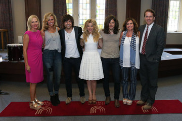 Elizabeth Roof ACM Lifting Lives Music Camp Songwriting Workshop With The Band Perry
