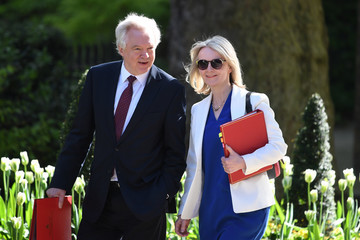 Elizabeth Truss UK Government Ministers Attend First Cabinet After Re-shuffle