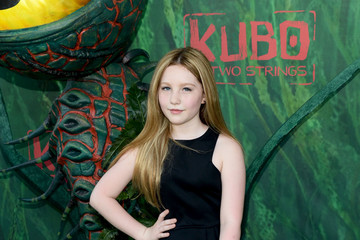 """Ella Anderson Premiere Of Focus Features' """"Kubo And The Two Strings"""" - Arrivals"""