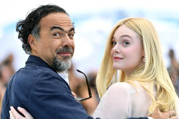 Elle Fanning Inarritu Master Of Ceremonies Photocall - The 72nd Annual Cannes Film Festival