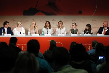 Elle Fanning Sofia Coppola 'The Beguiled' Press Conference - The 70th Annual Cannes Film Festival