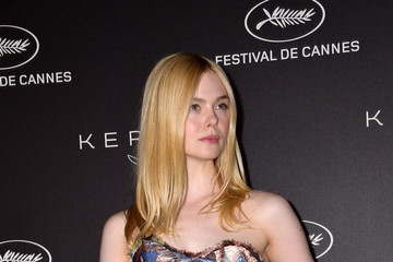 Elle Fanning Kering Women In Motion Awards - The 72nd Annual Cannes Film Festival