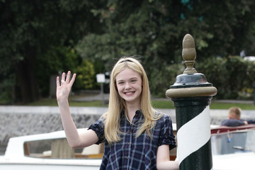 Elle Fanning Celebrity Sightings - Day Three:67th Venice Film Festival