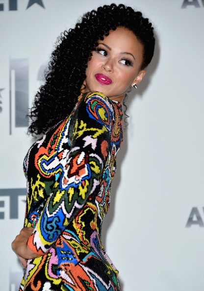 Elle Varner Singer Elle Varner poses in the press room at the 2012 BET Awards at The Shrine Auditorium on July 1, 2012 in Los Angeles, California.