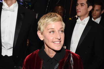 Ellen DeGeneres People's Choice Awards 2017 - Backstage