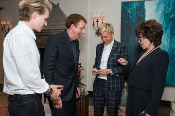 Ellen DeGeneres Book Party for Arianna Huffington's New Book