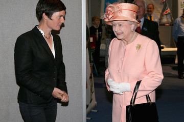 Ellen MacArthur Queen Elizabeth II Visits The Ilse Of Wight And New Forest