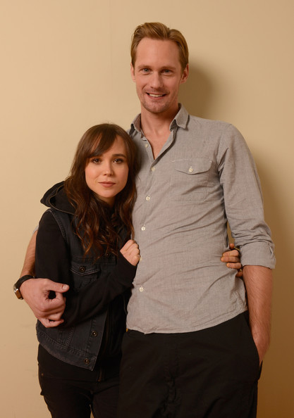 "Ellen Page and Alexander Skarsgard Photos Photos - ""The ..."