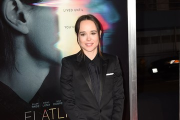 Ellen Page Premiere of Columbia Pictures' 'Flatliners' - Arrivals
