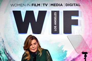 Ellen Pompeo Women In Film 2018 Crystal + Lucy Awards Presented By Max Mara, Lancome And Lexus - Inside