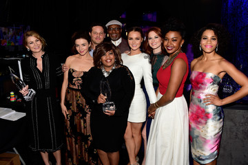 Ellen Pompeo People's Choice Awards 2016 - Backstage and Audience