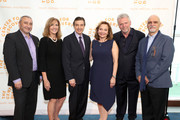 Cesare Casella, Terry hamlin, Jack Alemany, Ellen R. Alemany Aidan Quinn and Patrick Dollard attend The Center for Discovery's 23rd annual Evening of Discovery Gala on May 01, 2019 in New York City.