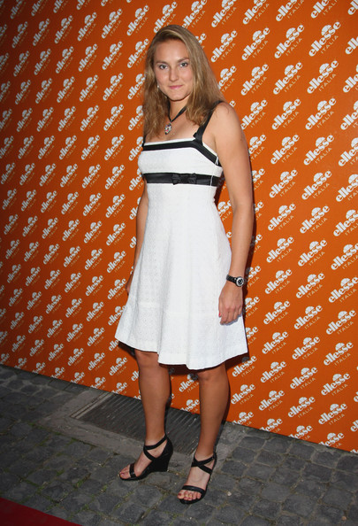 Nadia Petrova Tennis player Nadia Petrova attends the Ellesse 50th Anniversary Party at the Chiostro Del Bramante on July 7, 2009 in Rome, Italy.