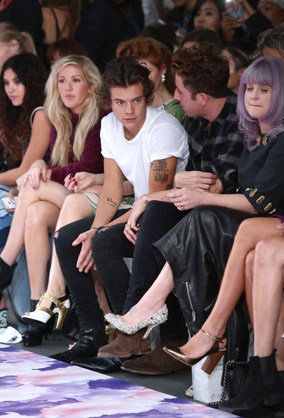 Ellie Goulding and Harry Styles Photos Photos - House Of ...