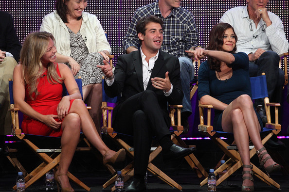 2010 Summer TCA Tour - Day 6 [performance,event,fashion,talent show,performing arts,stage,fashion design,audience,dress,competition,actors,james wolk,eloise mumford,adrianne palicki,portion,lone star,beverly hilton hotel,tca,fox,panel]