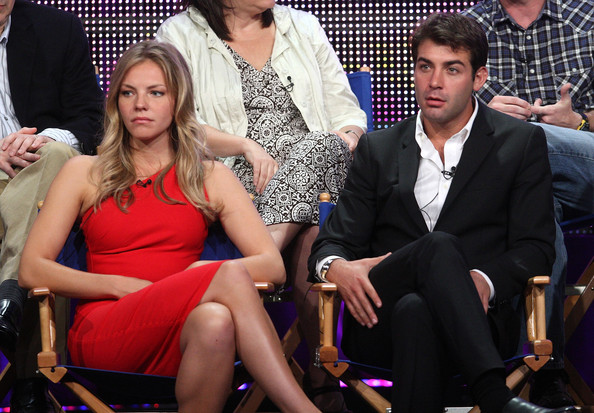 2010 Summer TCA Tour - Day 6 [event,leg,fashion,lip,thigh,human,sitting,suit,dress,formal wear,actors,james wold,eloise mumford,portion,lone star,beverly hilton hotel,tca,fox,panel,press tour]