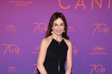 Elsa Zylberstein Opening Gala Dinner Arrivals - The 70th Annual Cannes Film Festival