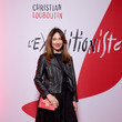 Elsa Zylberstein Christian Louboutin Presents During - Paris Fashion Week Womenswear Fall/Winter 2020/2021 - Exhibition Opening 'L'Exhibition[niste]'