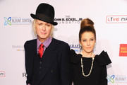 Michael Lockwood and Lisa Marie Presley attend the Elton John AIDS Foundation's 12th Annual An Enduring Vision Benefit at Cipriani Wall Street on October 15, 2013 in New York City.
