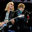 "Davey Johnstone Elton John And Leon Russell Perform ""The Union Tour"" At The Citizens Business Bank Arena"