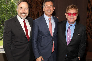 Elton John Elton John and David Furnish Host Lunch for Randy Berry, U.S. State Department Special Envoy for the Human Rights of LGBT Persons