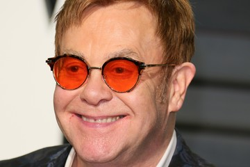 Elton John 2017 Vanity Fair Oscar Party Hosted By Graydon Carter - Arrivals