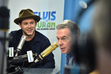 Elvis Duran Niall Horan Visits 'The Elvis Duran Z100 Morning Show'