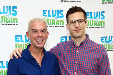 Elvis Duran Andy Samberg Visits 'The Elvis Duran Z100 Morning Show'