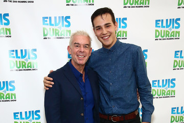 Elvis Duran Jacob Whitesides Visits 'The Elvis Duran Z100 Morning Show'
