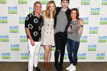 Elvis Duran Leon Else Visits 'The Elvis Duran Z100 Morning Show'