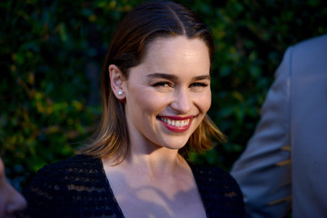 Emilia Clarke Opening of REFUGEE Exhibit At Annenberg Space For Photography