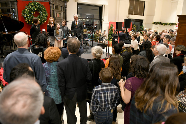 Brooks Brothers And St Jude Children's Research Hospital Annual Holiday Celebration In New York City
