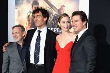 Emily Blunt Tom Cruise 'Edge of Tomorrow' Premieres in NYC