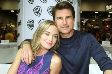 Emily Blunt Tom Cruise Warner Bros Entertainment at Comic-Con International 2013 - Day 3