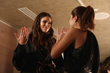 Emily DiDonato Backstage With Maybelline New York