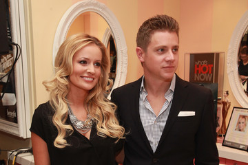 Emily Maynard Fashion's Night Out At Macy's Herald Square