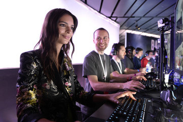 Emily Ratajkowski Game Maker Electronic Arts (EA) Hosts Its Annual Press Conference in Los Angeles