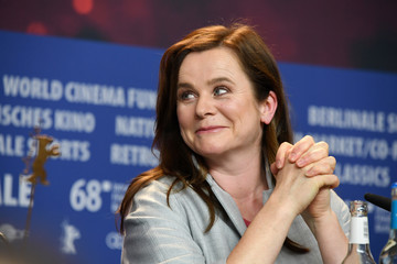Emily Watson 'The Happy Prince' Press Conference - 68th Berlinale International Film Festival