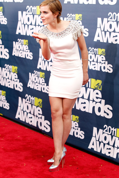emma watson 2011 mtv after party. 2011 MTV Movie Awards - Red
