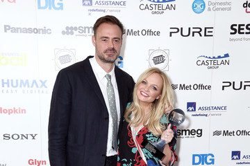 Emma Bunton TRIC Awards 2017 - Winners Room