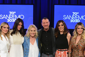 Emma D'Aquino 70 Sanremo Music Festival Press Conference