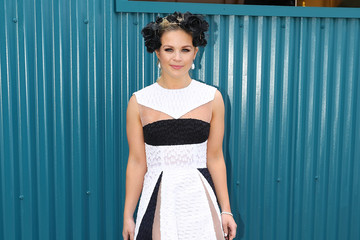 Emma Freedman Celebrities Attend Derby Day