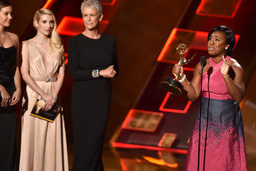 Emma Roberts 67th Annual Primetime Emmy Awards - Show