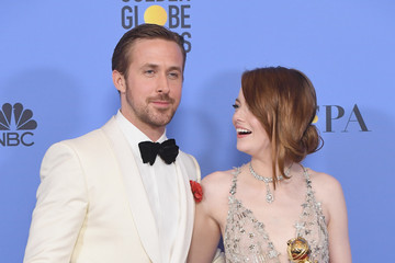 Emma Stone 74th Annual Golden Globe Awards - Press Room