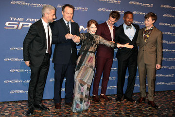 Emma Stone Marc Webb 'The Amazing Spider-Man 2' Premieres in Rome