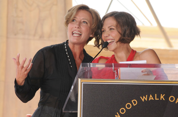 Emma Thompson and Maggie Gyllenhaal Paseo de la Fama